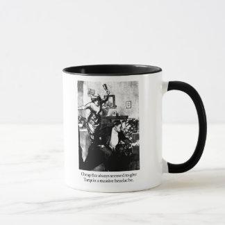Tarquin and Cheap Fizz Mug