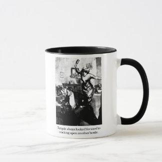 Tarquin and the Argument Mug