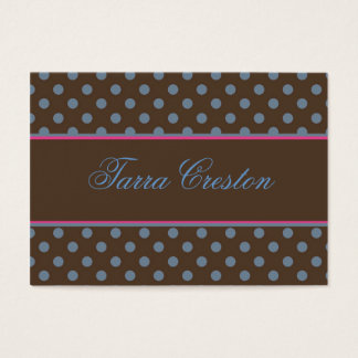 Tarra style business card