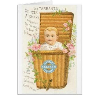 Tarrant's Seltzer Greeting Card