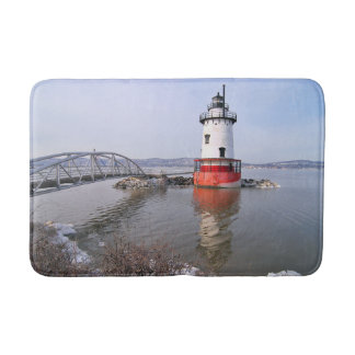 Tarrytown Lighthouse, New York Bath Mat
