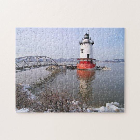 Tarrytown Lighthouse, New York Jigsaw Puzzle