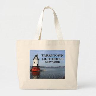 Tarrytown Lighthouse, New York Jumbo Tote Bag