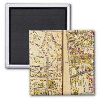 Tarrytown, New York 7 Square Magnet