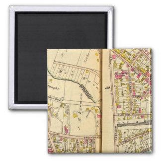 Tarrytown, New York Square Magnet