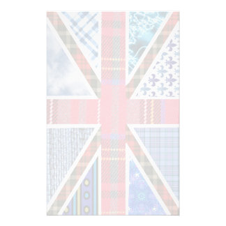 Tartan and Fabric Patterns British Flag paper