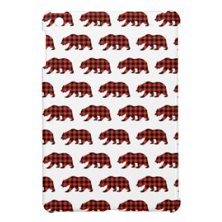 Tartan bear iPad mini covers