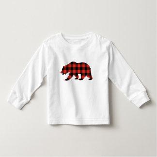 Tartan bear toddler T-Shirt