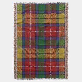 Tartan Buchanan Throw Blanket