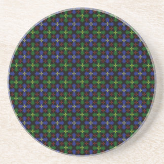Tartan Celtic Crosses Coasters