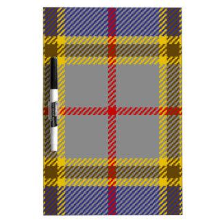 Tartan Clan Balfour Dry Erase Board