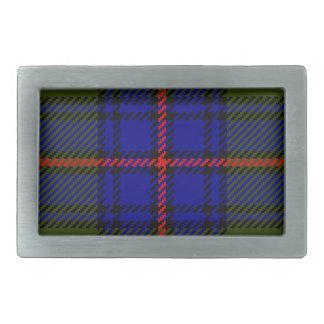 Tartan Clan Shaw Rectangular Belt Buckle