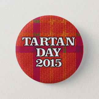 Tartan Day 2015 Button
