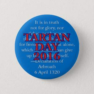 Tartan Day 2016 button