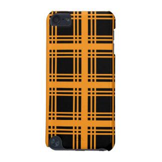 Tartan Ebony (Orange) iPod Touch Case