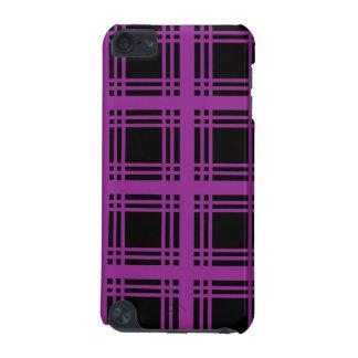 Tartan Ebony (Purple) iPod Touch Case