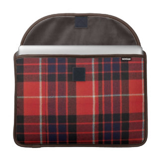 Tartan elegant bold and stylish MacBook pro sleeve