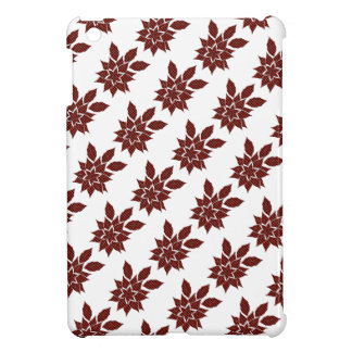 Tartan flower cover for the iPad mini