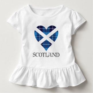 Tartan Heart - Scotland Toddler T-Shirt
