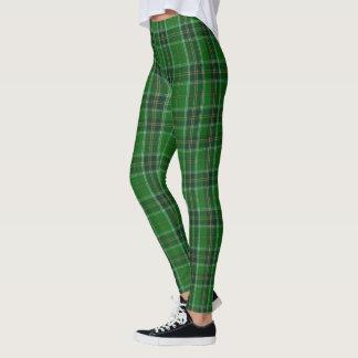 Tartan Ireland Green Leggings