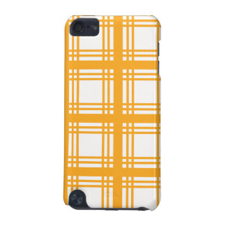 Tartan Ivory (Amber) iPod Touch Case