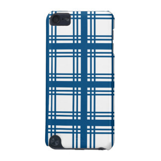 Tartan Ivory (Blue) iPod Touch Case