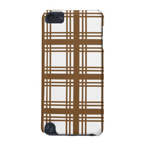 Tartan Ivory (Brown) iPod Touch Case