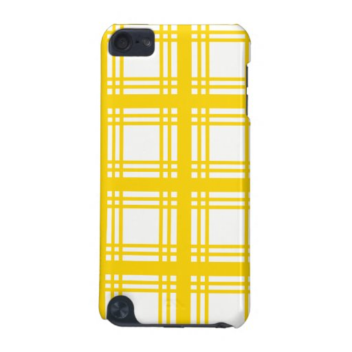 Tartan Ivory (Gold) iPod Touch Case