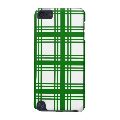 Tartan Ivory (Green)  iPod Touch 5G Case