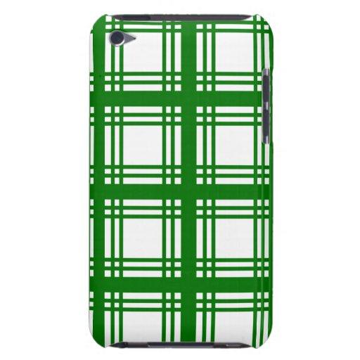Tartan Ivory (Green) iPod Touch Case