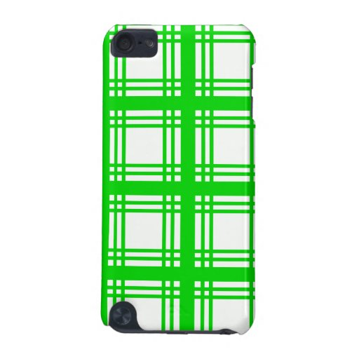 Tartan Ivory (Lime) iPod Touch Case