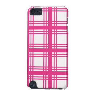 Tartan Ivory (Magenta) iPod Touch Case