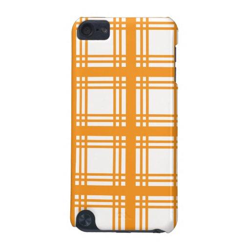 Tartan Ivory (Orange) iPod Touch Case