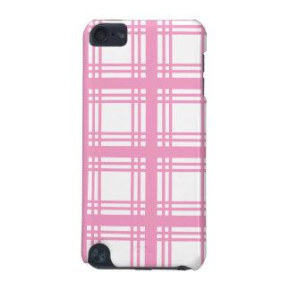 Tartan Ivory Pink iPod Touch Case