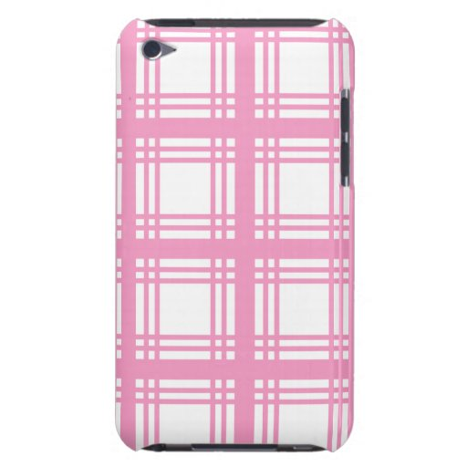 Tartan Ivory (Pink) iPod Touch Case
