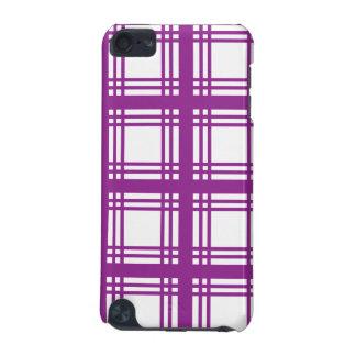 Tartan Ivory (Purple) iPod Touch Case