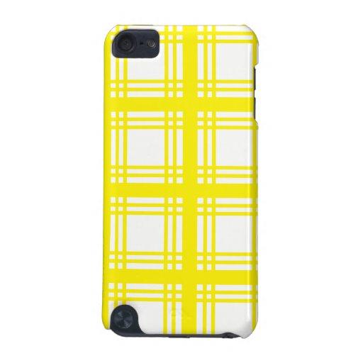 Tartan Ivory (Yellow) iPod Touch Case