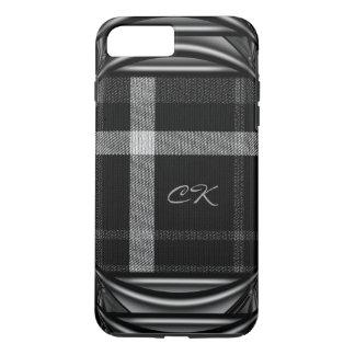 Tartan Knight Cool Monogram iPhone 7 Plus Case