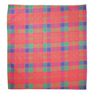 Tartan Lapel Pocket Handkerchief Bandana
