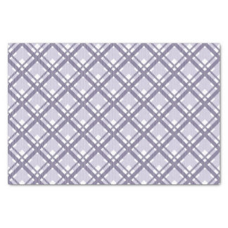 "Tartan pattern of stripes and squares 10"" x 15"" tissue paper"