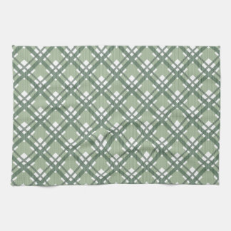 Tartan pattern of stripes and squares towel