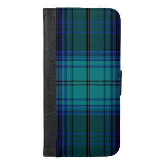 Tartan Plaid iPhone 6/6s Plus Wallet Case