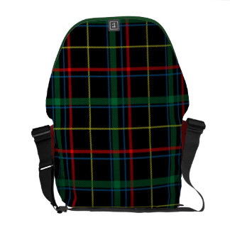 Tartan Plaid  Messenger Bag
