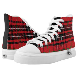 Tartan Plaid Pattern High Tops