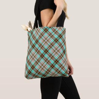Tartan Plaid Pattern Tote Bag