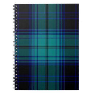 Tartan Plaid Spiral Notebook