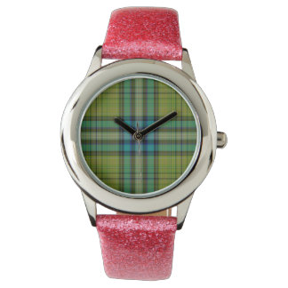 Tartan Plaid Watch