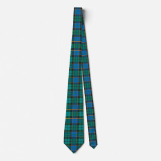 Tartan plaids pattern - traditional blue green tie