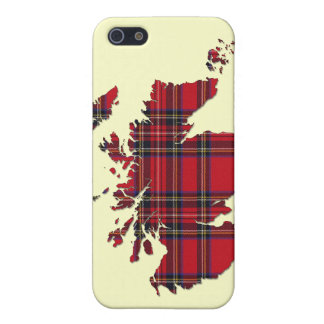 Tartan Scotland Map iPhone Case Cover For iPhone 5/5S