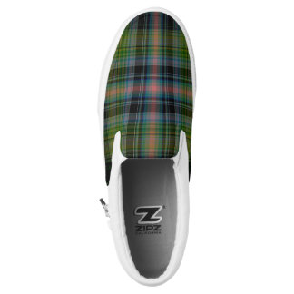Tartan Slip On Shoes